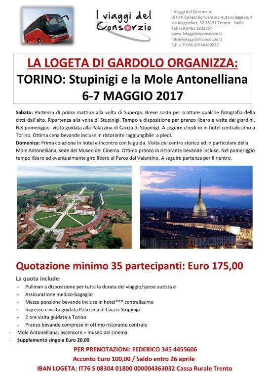 gita TORINO LOGETA LOCANDINA